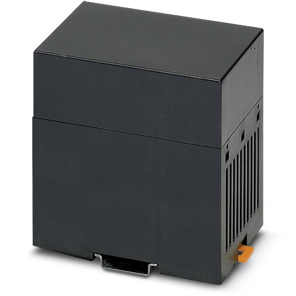 DIN-skinnekabinet Phoenix Contact CM 75-LG/H 35/BO BK Plast 5 stk