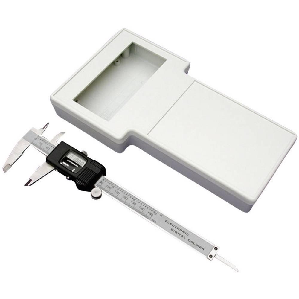 Hånd-kabinet Hammond Electronics 1592ETSDGY 235 x 130 x 34 ABS Grå 1 stk