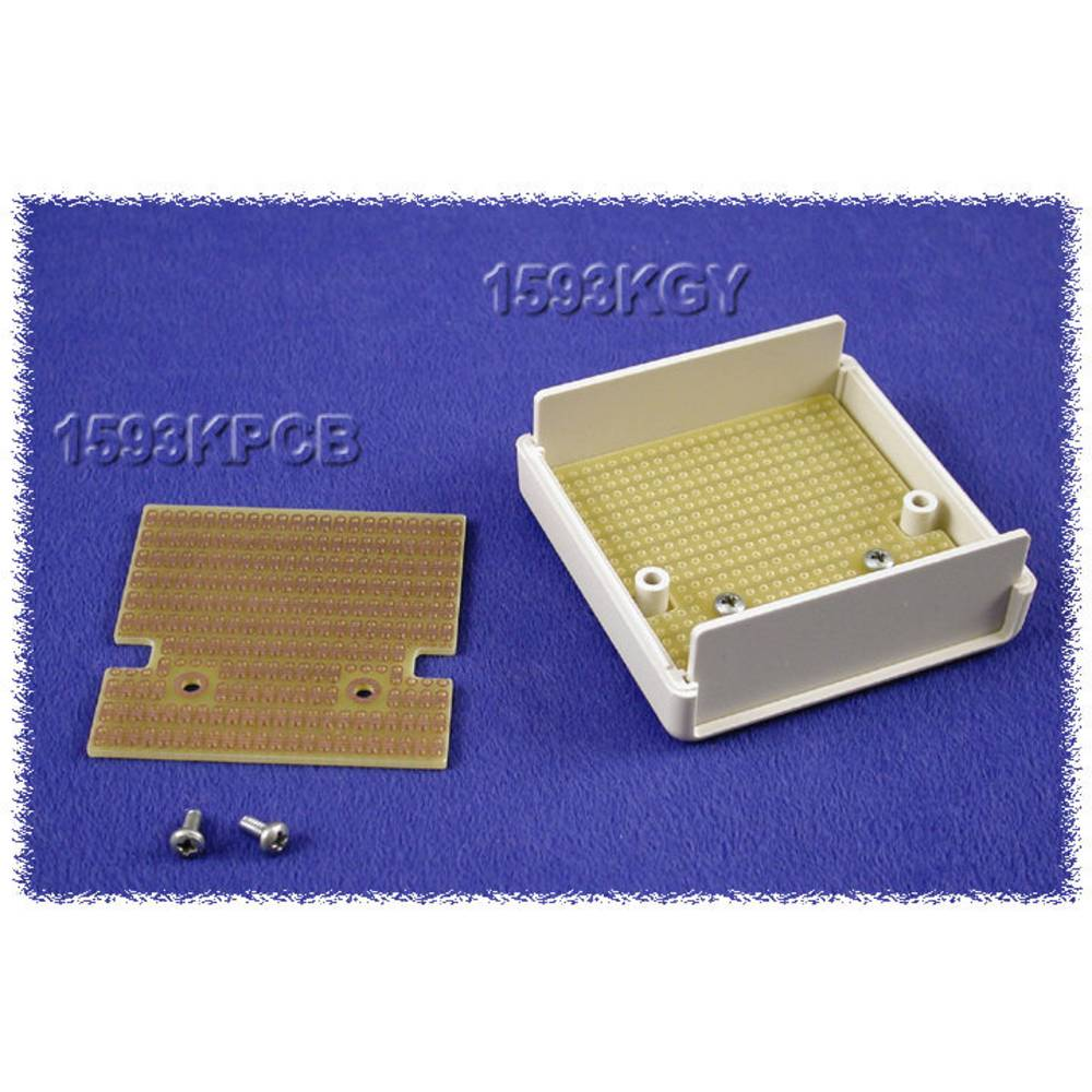 Printplade Epoxid (L x B) 56 mm x 57 mm Hammond Electronics 1593KPCB Indhold 1 stk