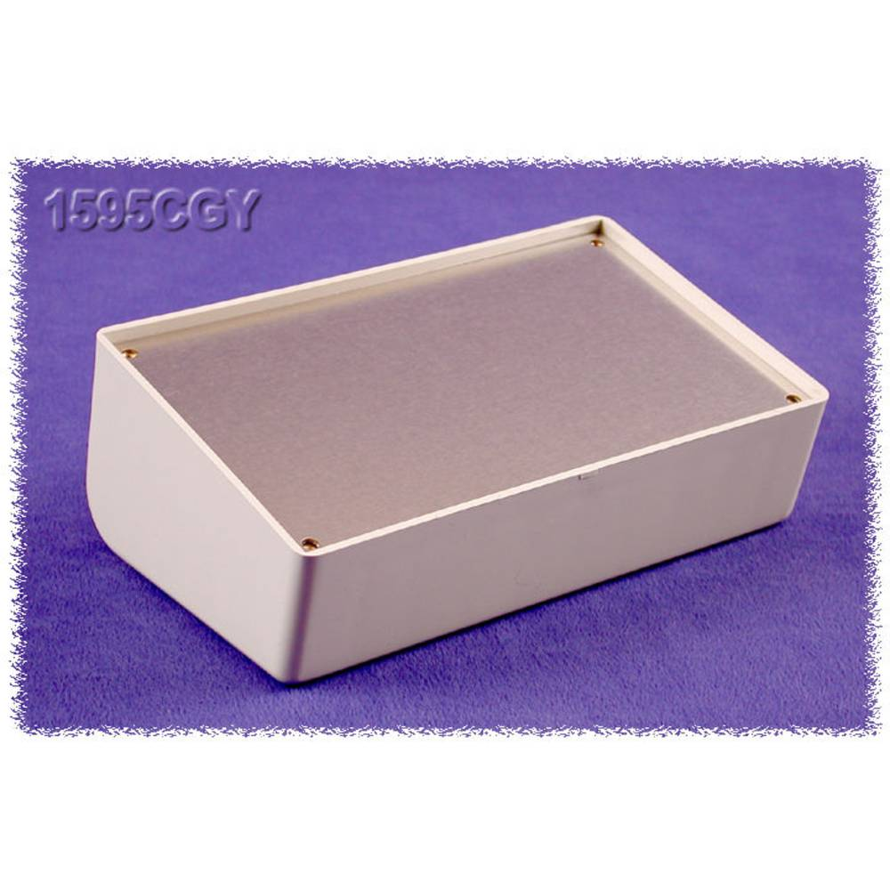 Pult-kabinet Hammond Electronics 1595CGY 161 x 96 x 58 ABS Grå 1 stk