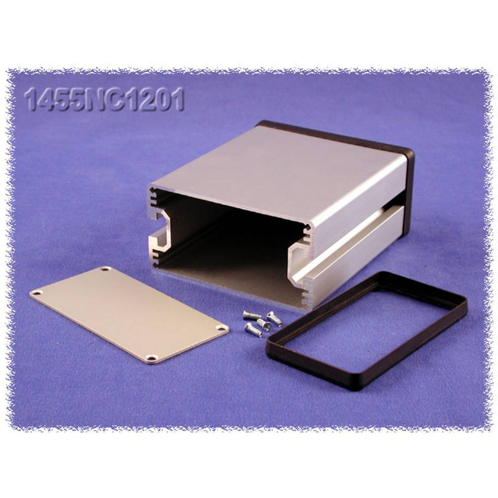 Universalkabinet 120 x 103 x 53 Aluminium Natur Hammond Electronics 1455NC1201 1 stk