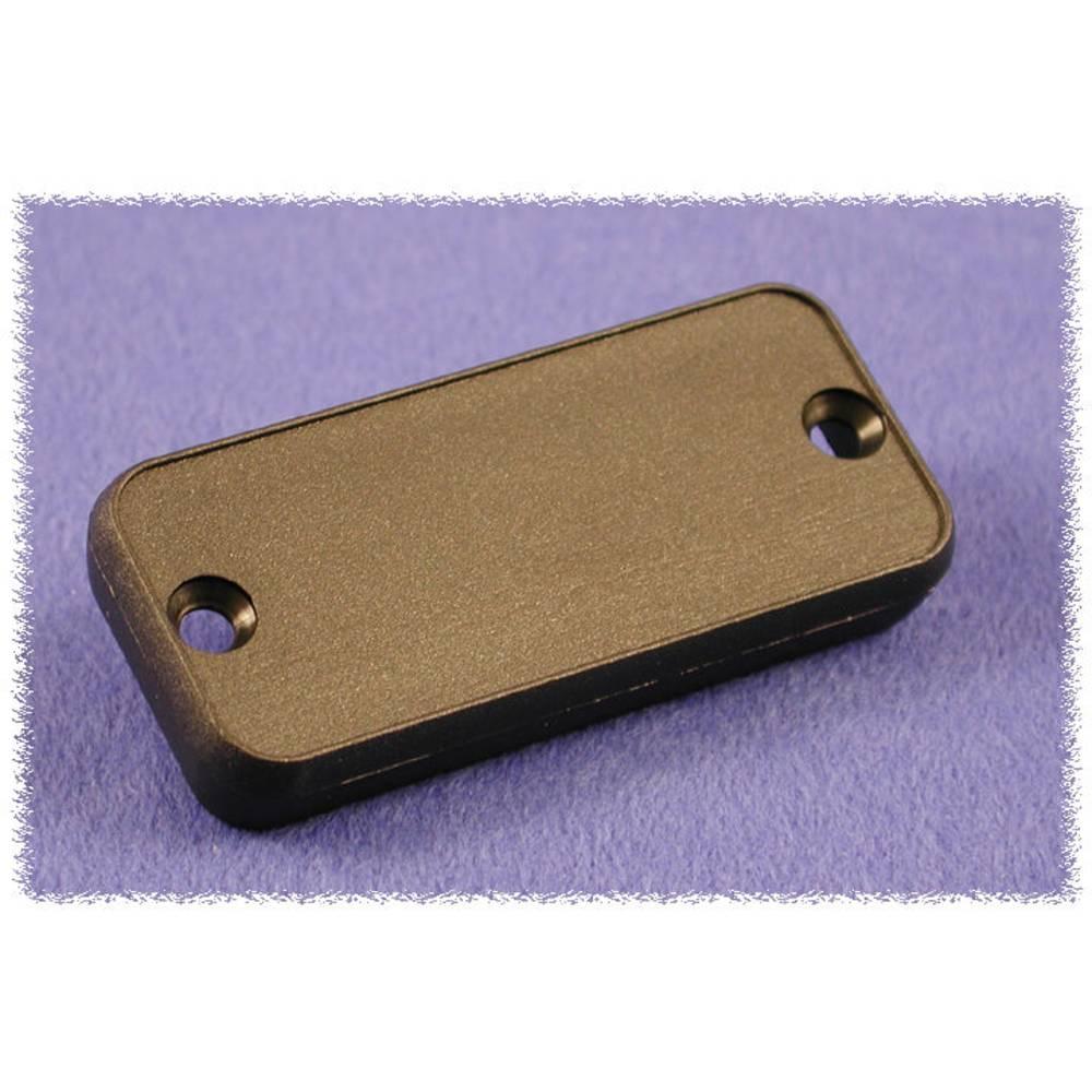 Endeplade Hammond Electronics 1455PPLBK (L x B x H) 8 x 120.5 x 30.5 mm ABS Sort 2 stk