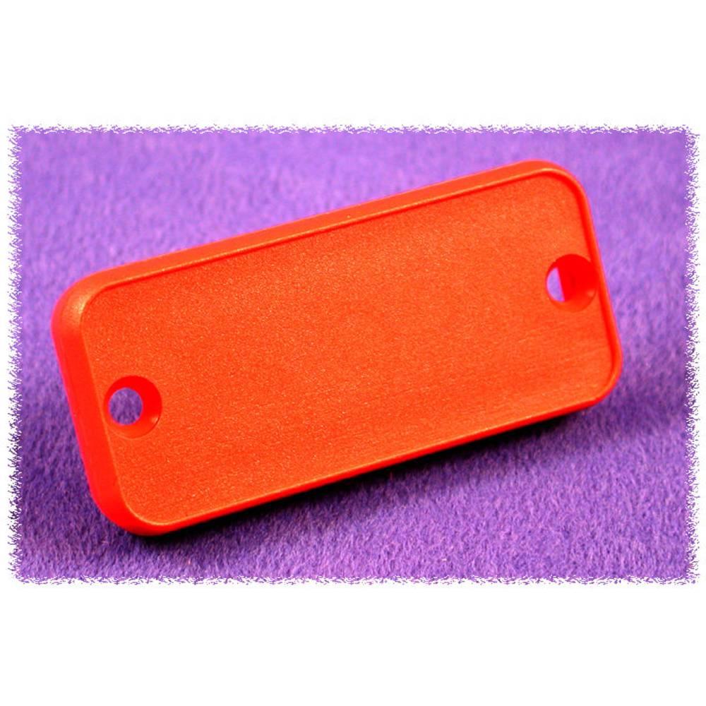 Endeplade Hammond Electronics 1455TPLRED-10 (L x B x H) 8 x 160 x 51.5 mm ABS Rød 10 stk