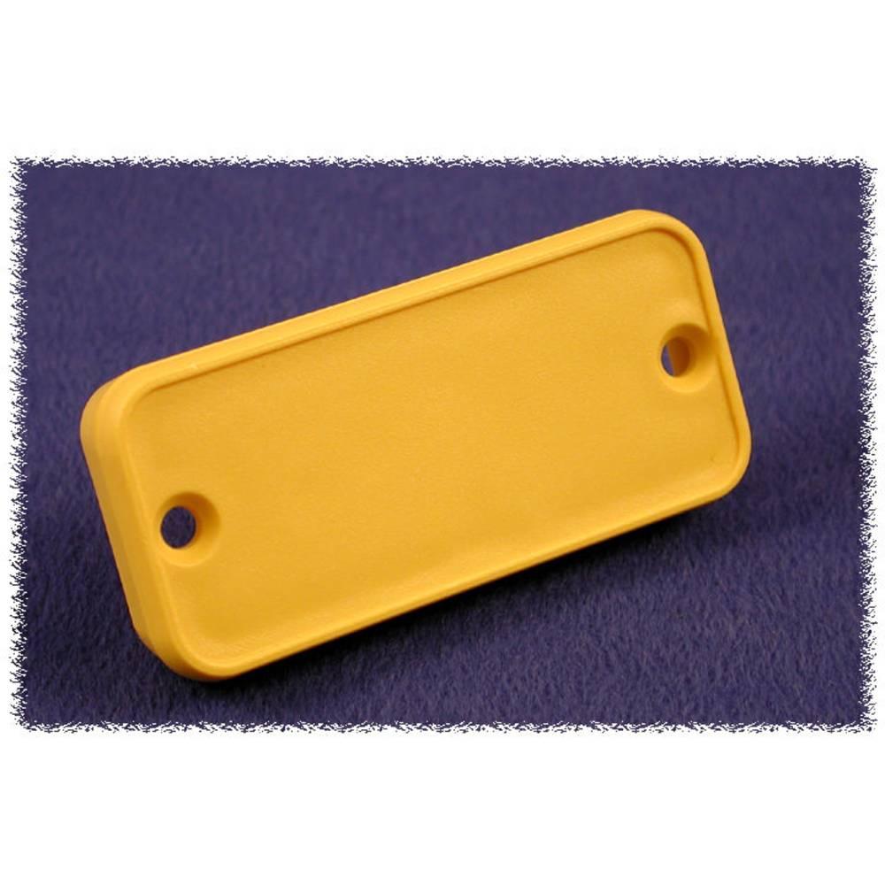 Endeplade Hammond Electronics 1455TPLY-10 (L x B x H) 8 x 160 x 51.5 mm ABS Gul 10 stk