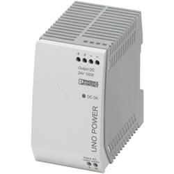 Napajalnik za namestitev na vodila (DIN letev) Phoenix Contact UNO-PS/1AC/24DC/100W 24 V/DC 4.2 A 100 W 1 x