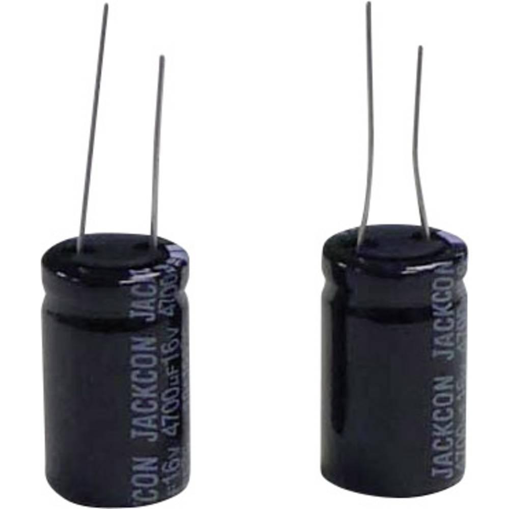 Elektrolitski kondenzator (OxV) 8.5 mm x 12.5 mm raster 5 mm 100F 50 V