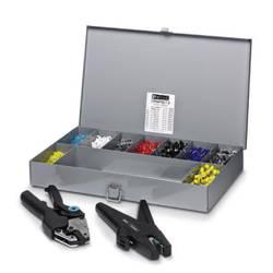 Kliješta za krimpanje 1102-dijelni set kabelski završetaka 0.25 do 6 mm uklj. kofer od metala i kliješta za skidanje izolacije P