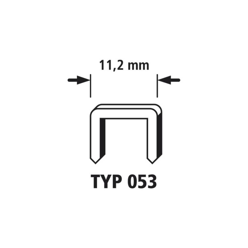 3000 Sponke s širokim hrbtnim delom 3000 kos Wolfcraft 7015000 tip 053 dimenzije, (Š x V) 11.2 mm x 4 mm
