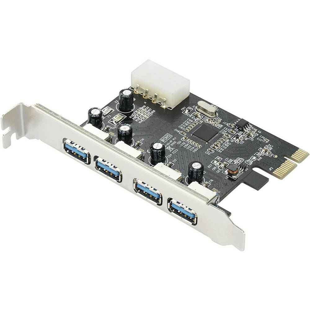 4 Port USB 3.0 PCI-Express kartica - 4x zunanja