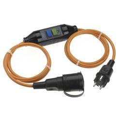 Produžni kabel za osobnu zaštitu sa PRCD 3 m narančasti, crni, Bachmann Electric 341880