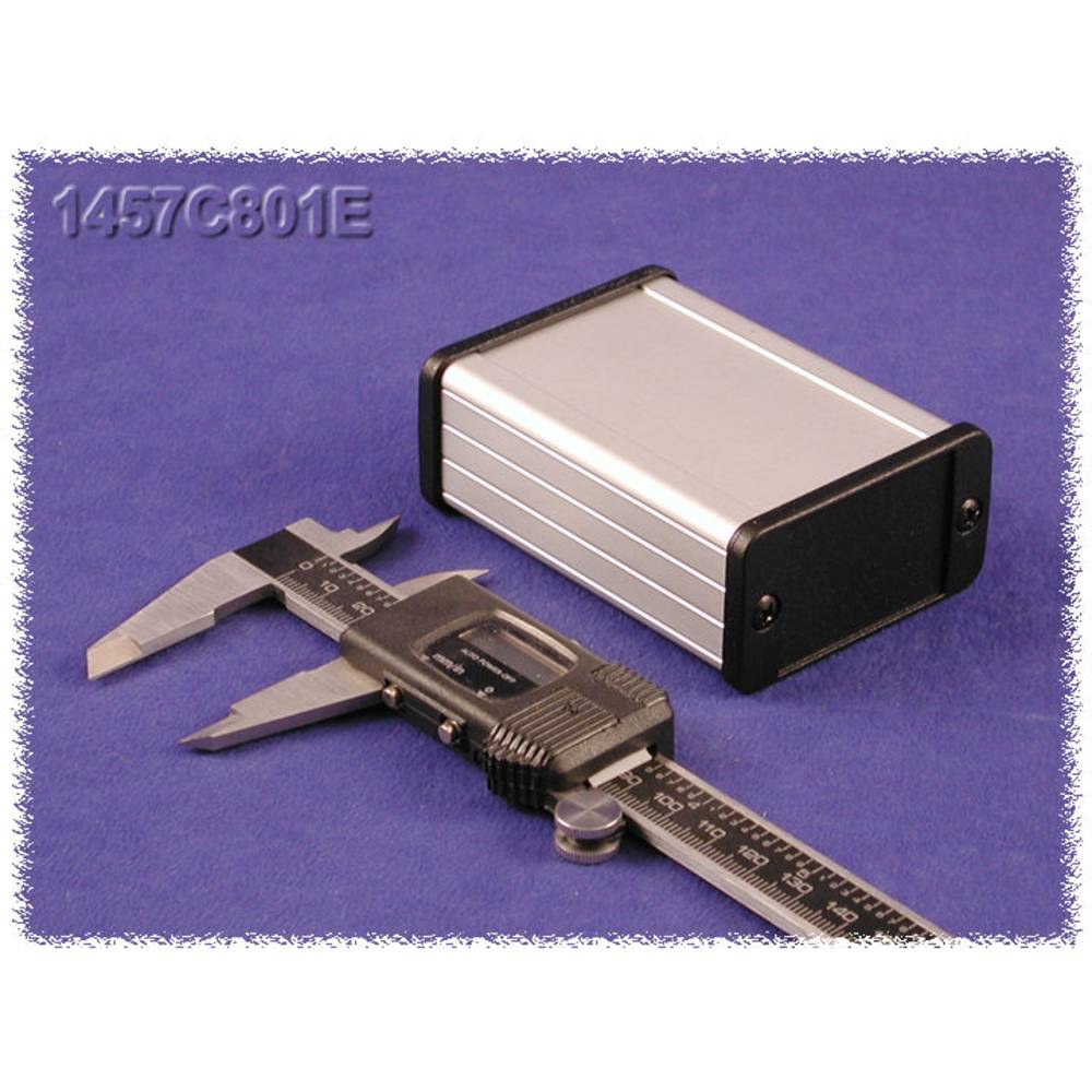 Universalkabinet 80 x 59 x 31 Aluminium Natur Hammond Electronics 1457C802E 1 stk