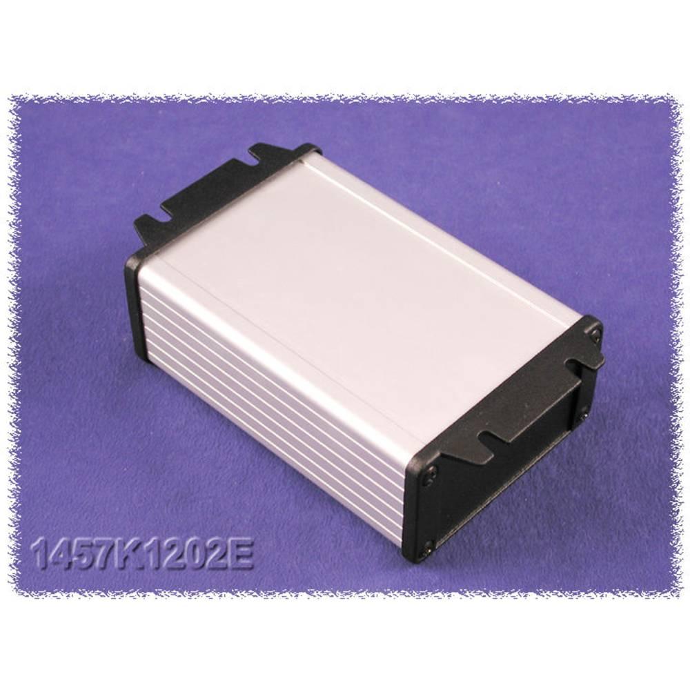 Universalkabinet 160 x 104 x 32 Aluminium Sort Hammond Electronics 1457L1602BK 1 stk