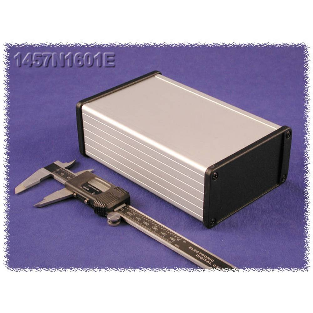 Universalkabinet 120 x 84 x 28.5 Aluminium Hvid Hammond Electronics 1457J1201 1 stk