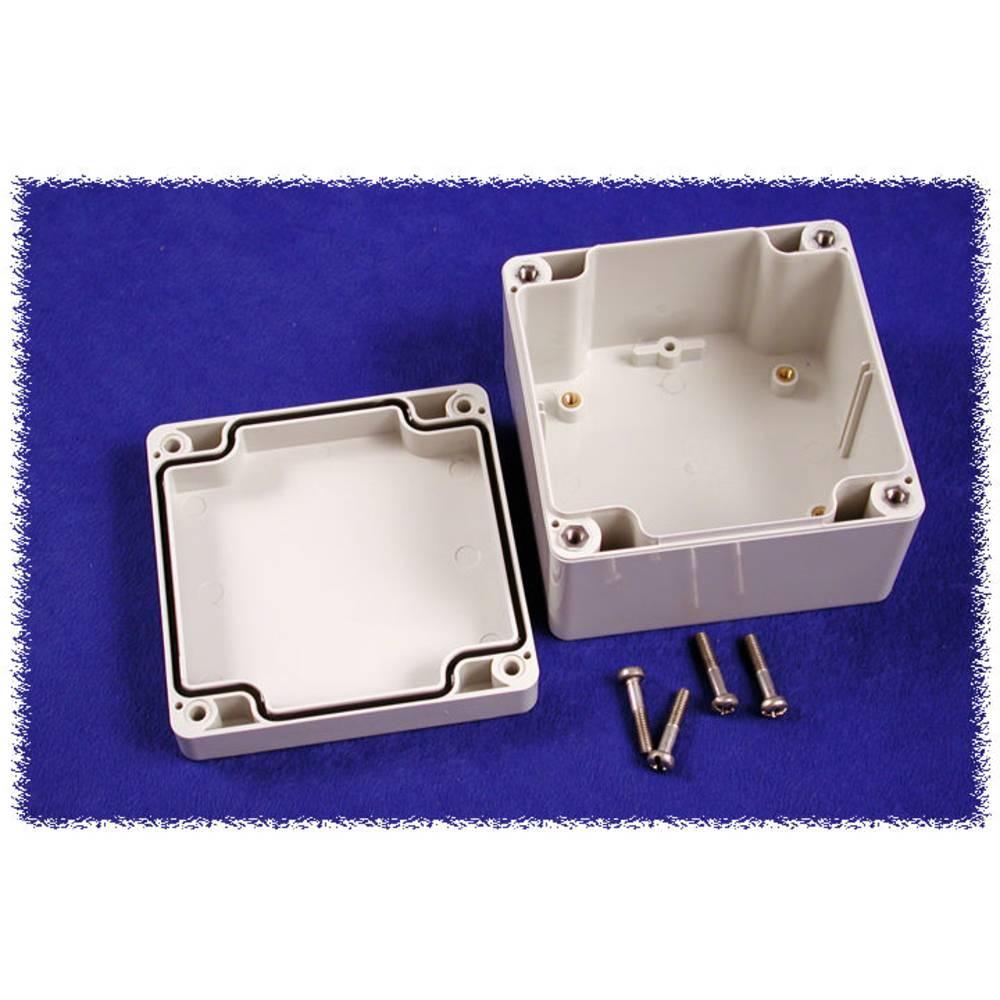 Universalkabinet 90 x 90 x 60 Polycarbonat Grå Hammond Electronics 1554E2GY 1 stk