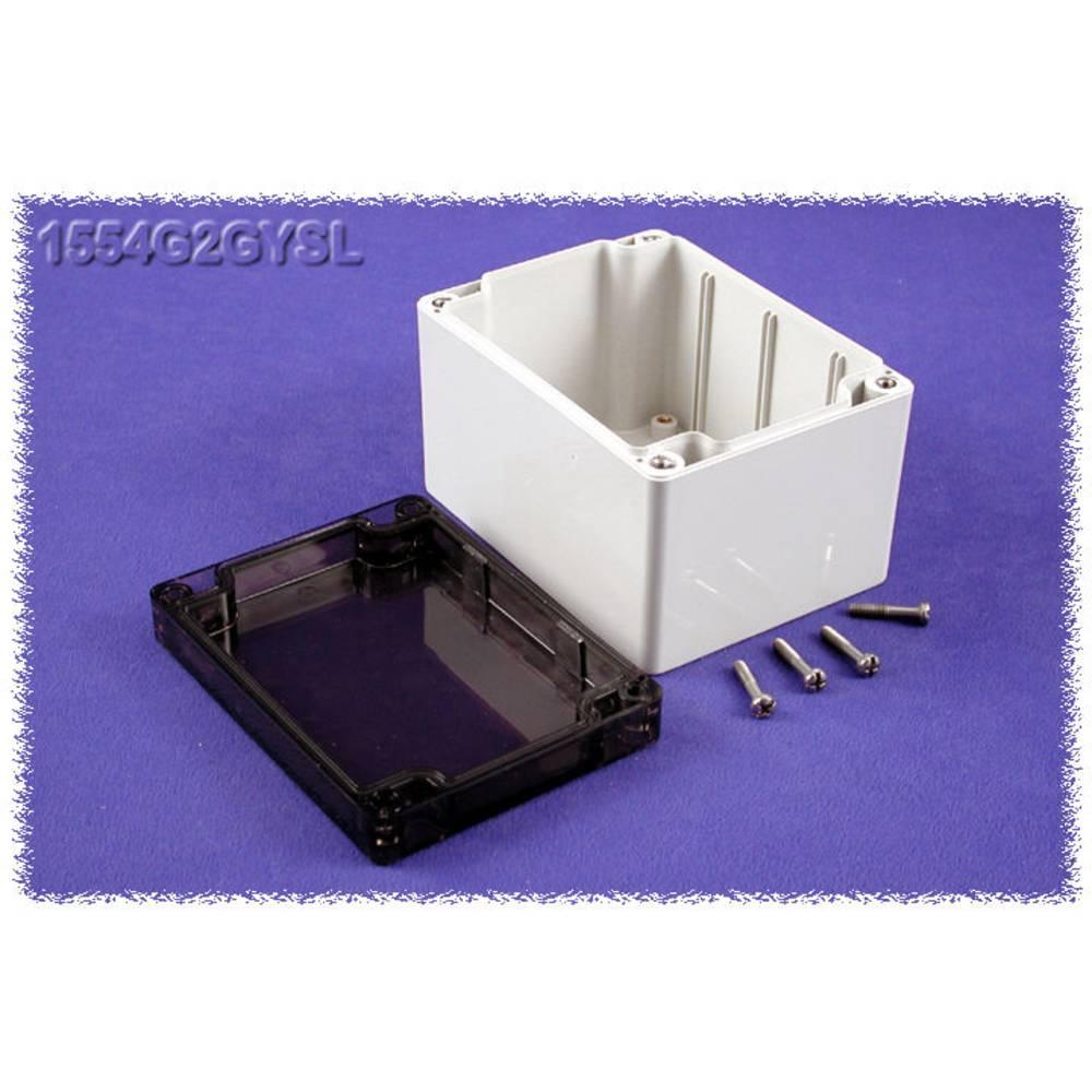 Universalkabinet 120 x 90 x 80 Polycarbonat Grå Hammond Electronics 1554G2GYSL 1 stk