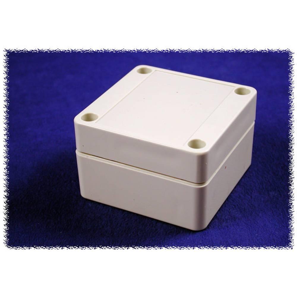 Universalkabinet 65 x 65 x 40 Polycarbonat Grå Hammond Electronics 1555B2GY 1 stk