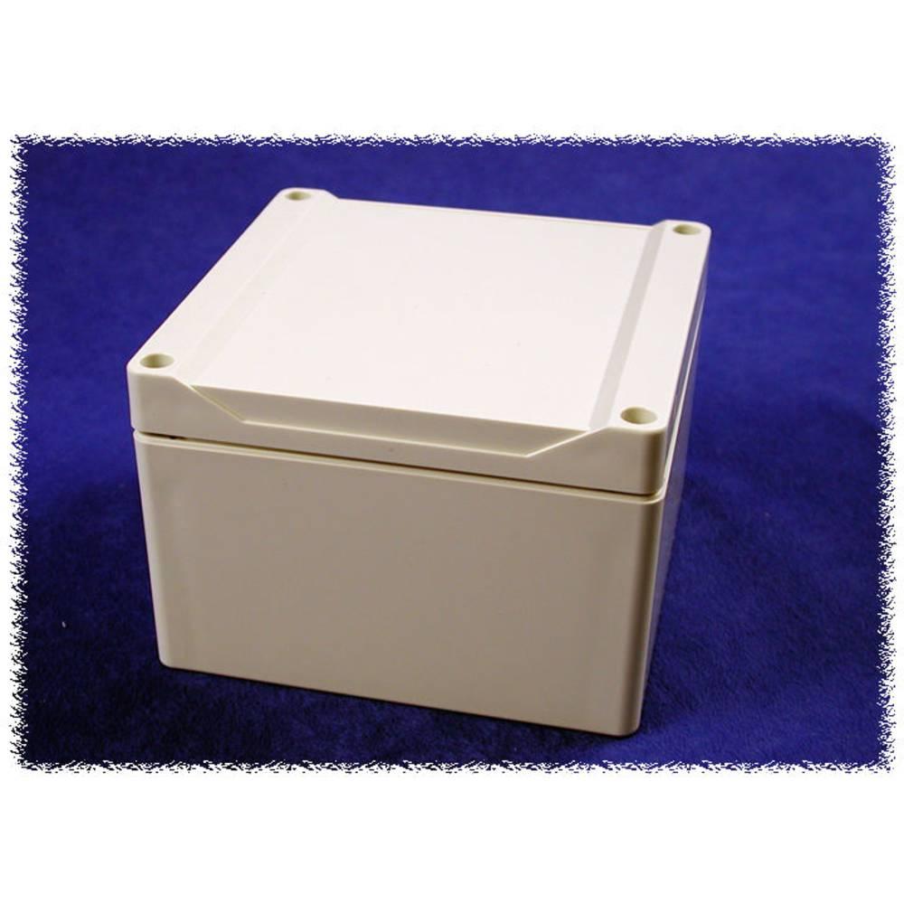 Universalkabinet 120 x 120 x 80 Polycarbonat Grå Hammond Electronics 1555P2GY 1 stk
