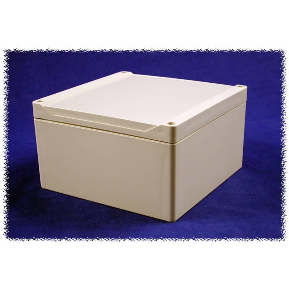 Universalkabinet 160 x 160 x 90 Polycarbonat Grå Hammond Electronics 1555S2GY 1 stk