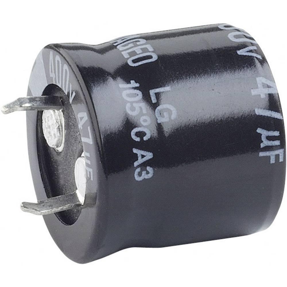 Visokovoltni elektrolitski kondenzatori ESR (OxV) 25 mm x 40 mm raster 10 mm 1000F 100 V