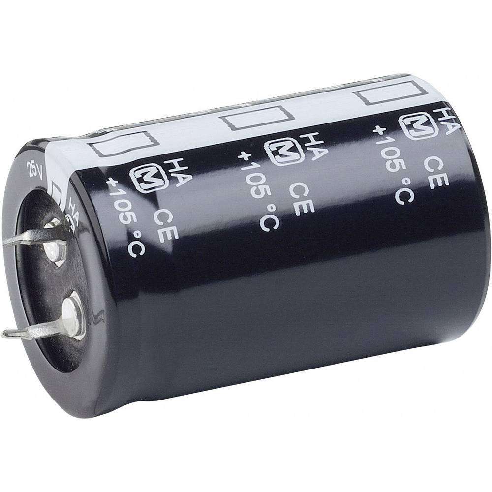 Visokovoltni elektrolitski kondenzatori ESR (OxV) 35 mm x 50 mm raster 10 mm 22000F 25 V