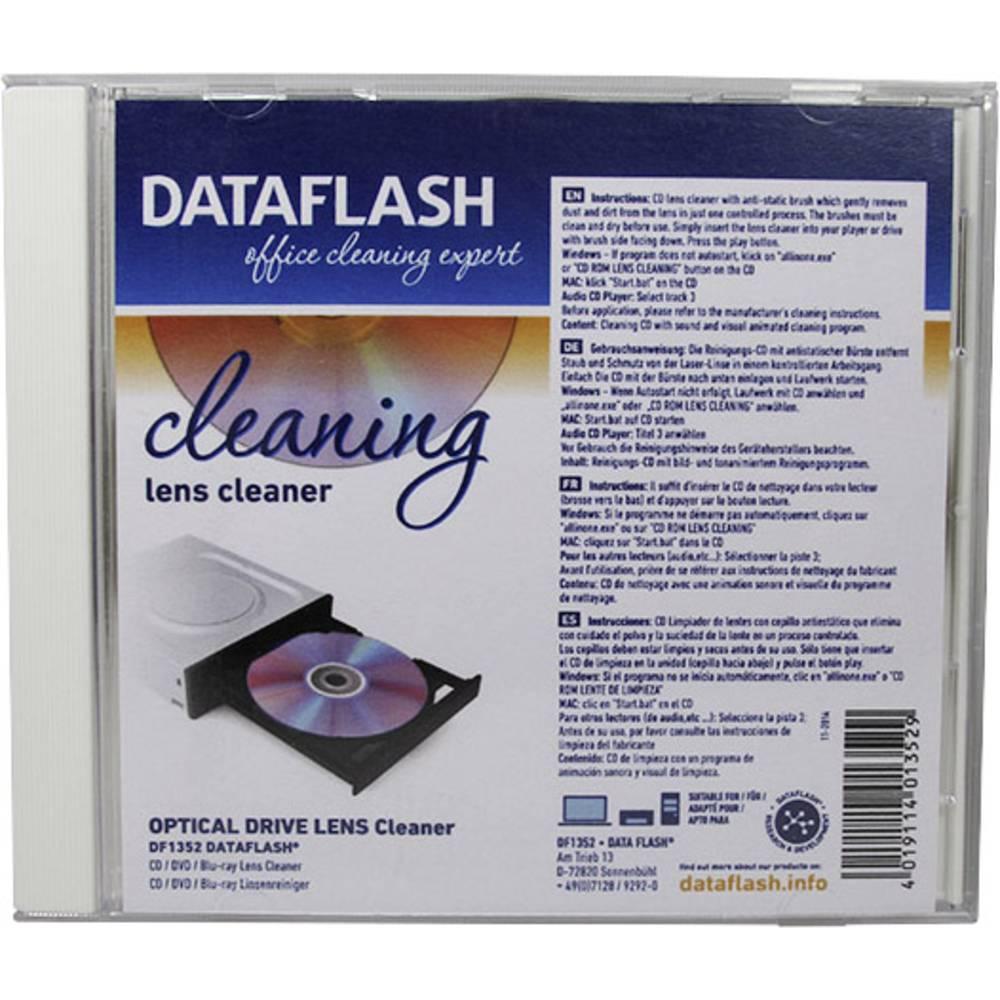 CD za čiščenje laserske leče v CD-predvajalniku DataFlash DF1352, 1 kos