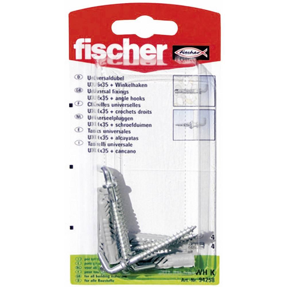 Universalplugg Fischer UX 6 x 35 WH K 35 mm 6 mm 4 st