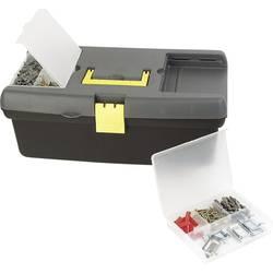 Kovček z orodjem, brez vsebine Brüder Mannesmann 41510 iz umetne mase črne barve