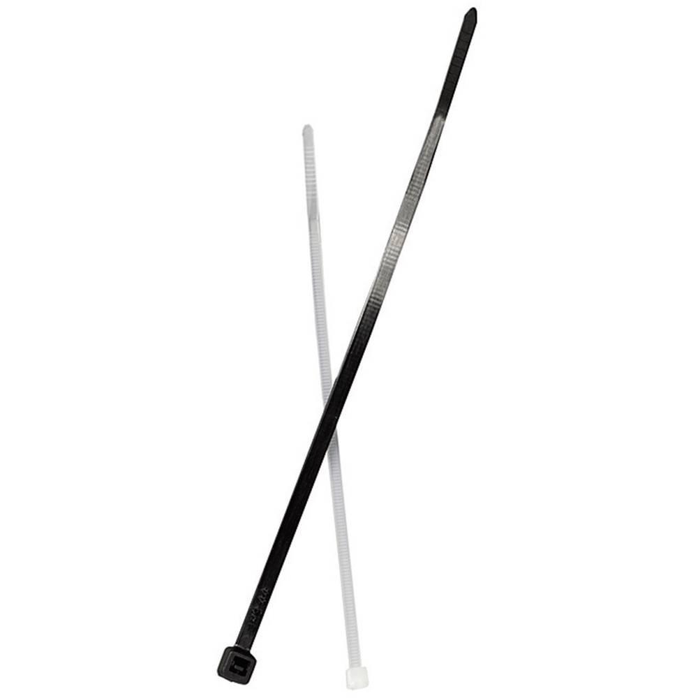 Vezice za kabele 100 mm crne boje UV-stabilne Fischer 87488 100 kom