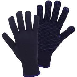 Pletene rukavice Worky Purple1131, 100 % poliester, velikost10