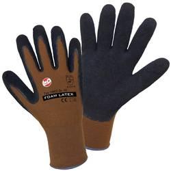 Štrikane rokavice Worky 14902,100 % poliamid s penasto prevleko iz lateksa, velikost 10