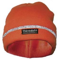 Zaštitna pletena kapa Upixx Lasse 40312, jako narančaste boje