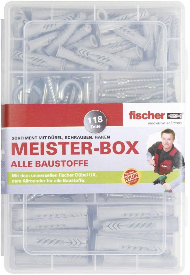 Fischer Fixtainer Sx Duopower Dübel & Schrauben Sortimente Stapelbox L-boxx Eisenwaren Dübel