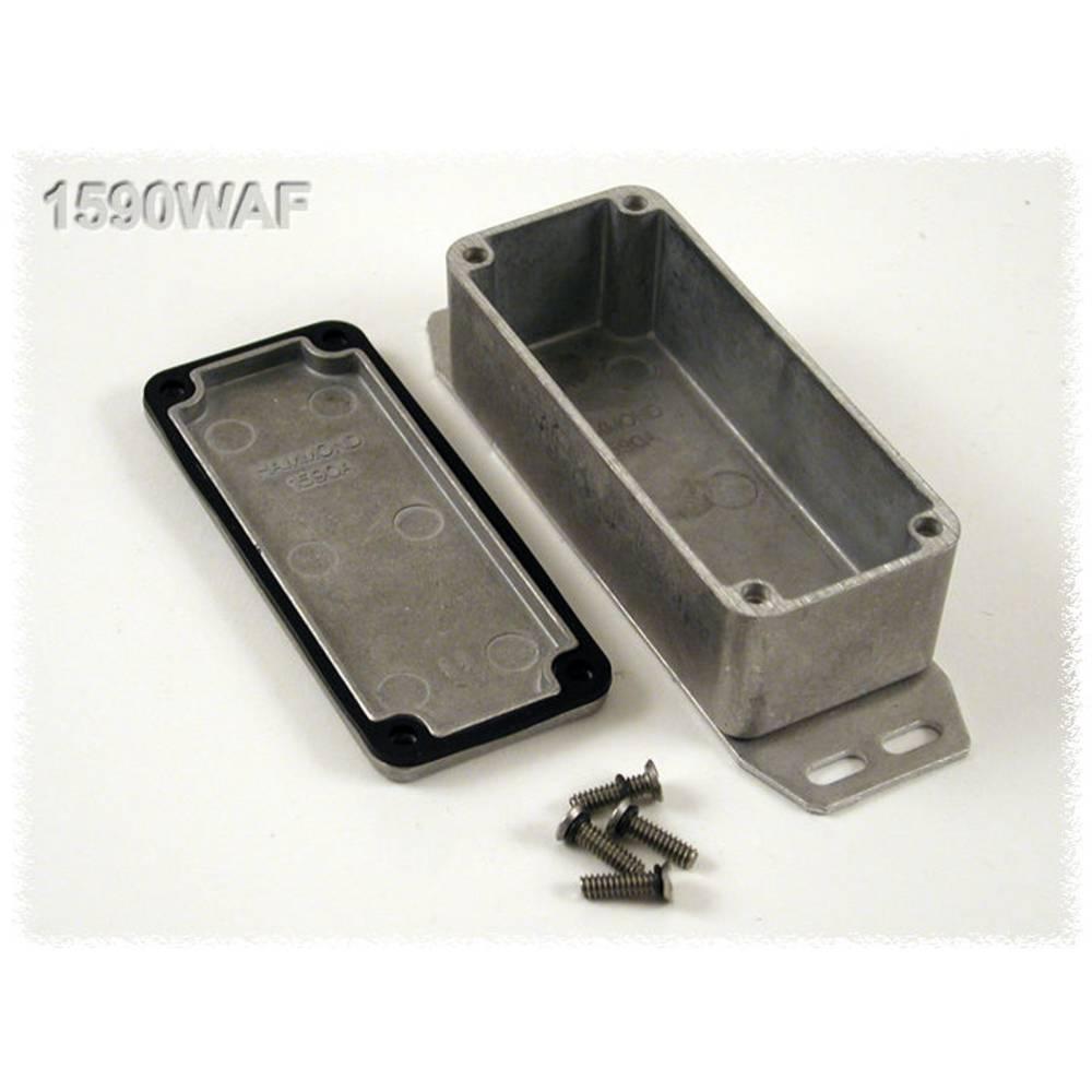 Universalkabinet 92.5 x 38.5 x 31 Aluminium Natur Hammond Electronics 1590WAF 1 stk