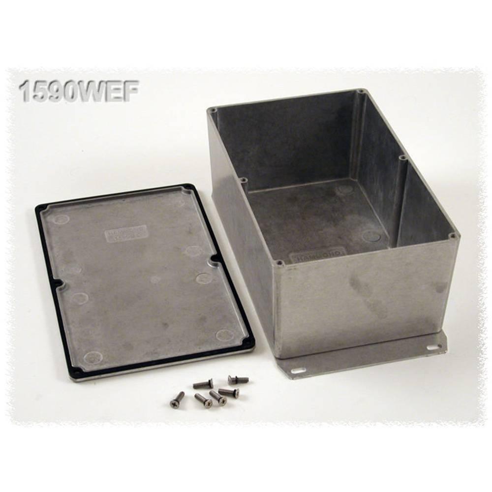 Universalkabinet 187.5 x 119.5 x 82 Aluminium Natur Hammond Electronics 1590WEF 1 stk