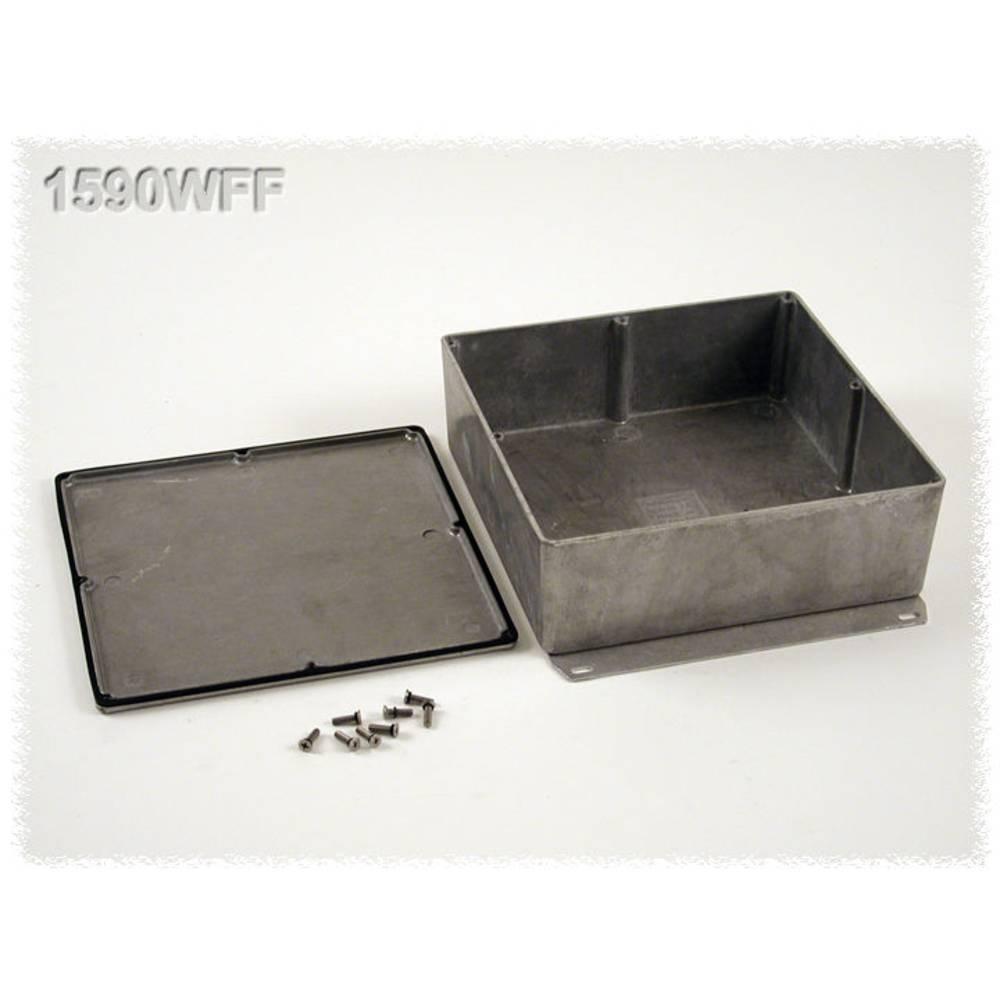 Universalkabinet 187.5 x 187.5 x 67 Aluminium Natur Hammond Electronics 1590WFF 1 stk