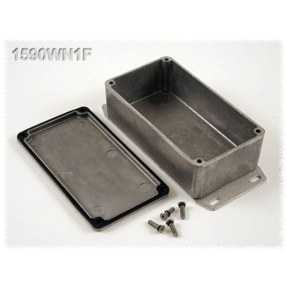 Universalkabinet 121 x 66 x 40 Aluminium Natur Hammond Electronics 1590WN1F 1 stk