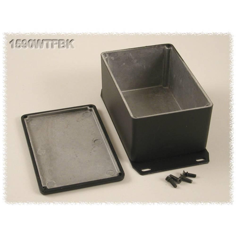 Universalkabinet 120.5 x 79.5 x 59 Aluminium Sort Hammond Electronics 1590WTFBK 1 stk