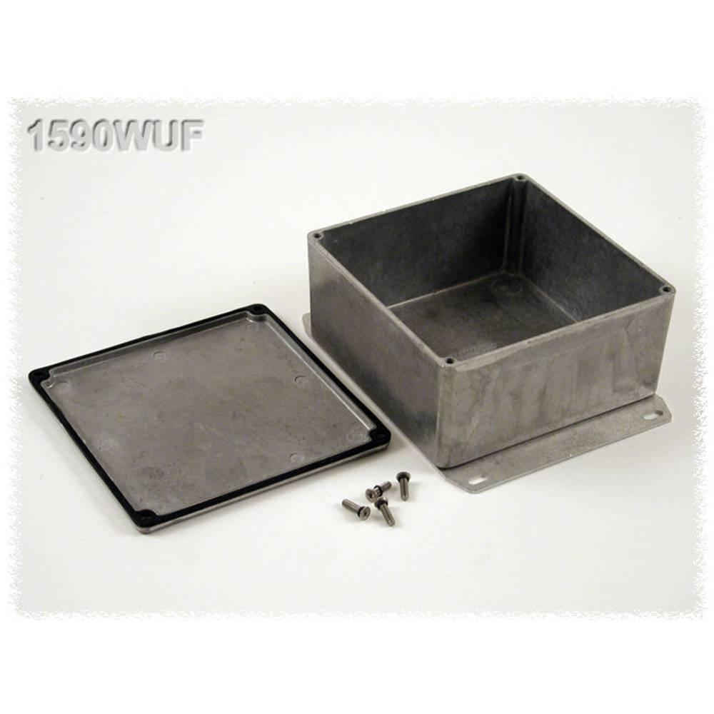 Universalkabinet 119.5 x 119.5 x 59 Aluminium Natur Hammond Electronics 1590WUF 1 stk