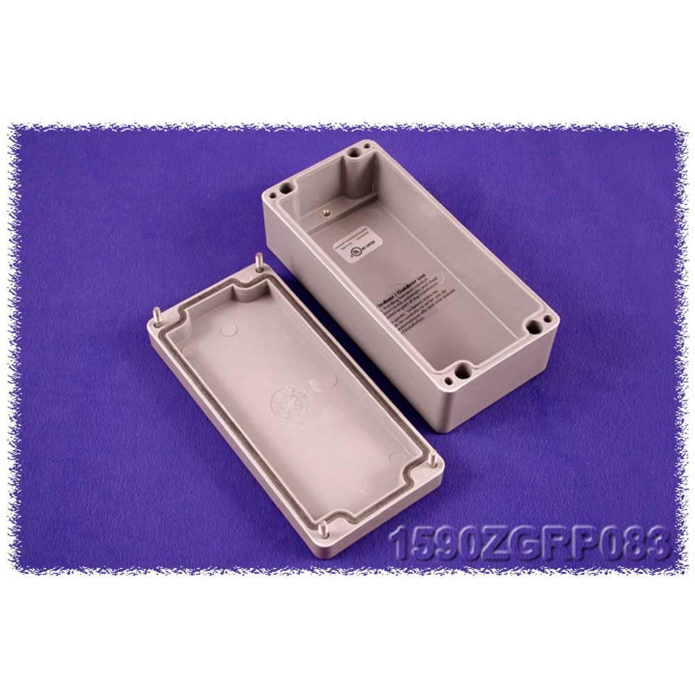 Universalkabinet 160 x 75 x 55 Polyester Grå Hammond Electronics 1590ZGRP083 1 stk