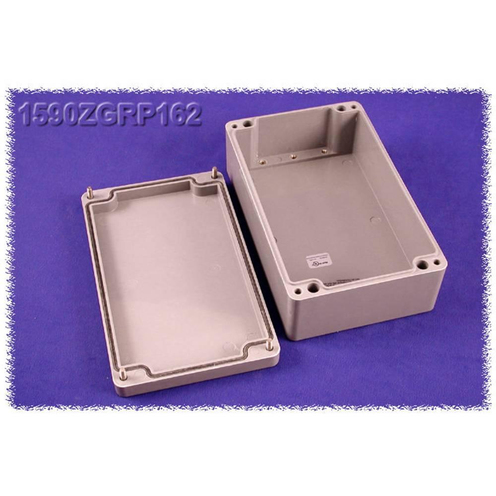 Universalkabinet 260 x 160 x 90 Polyester Grå Hammond Electronics 1590ZGRP162 1 stk