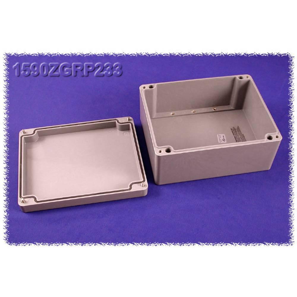 Indlægsplade Hammond Electronics 1590ZGRP233PL Stålplade Natur 1 stk