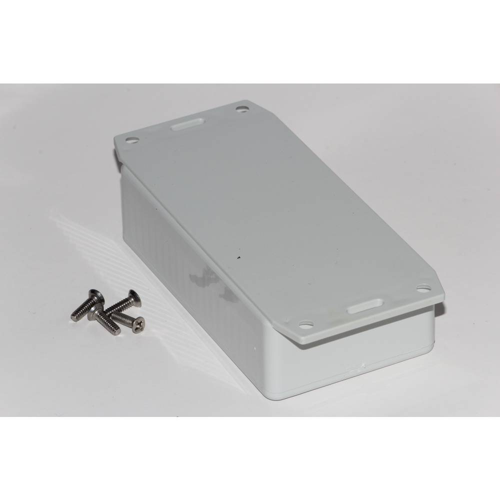 Universalkabinet 112 x 62 x 31 ABS Grå Hammond Electronics 1591BF2GY 1 stk