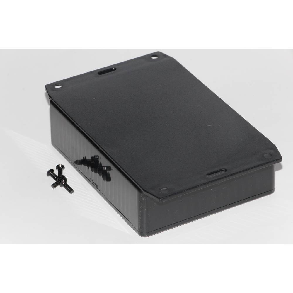Universalkabinet 121 x 94 x 34 ABS Sort Hammond Electronics 1591GF2BK 1 stk