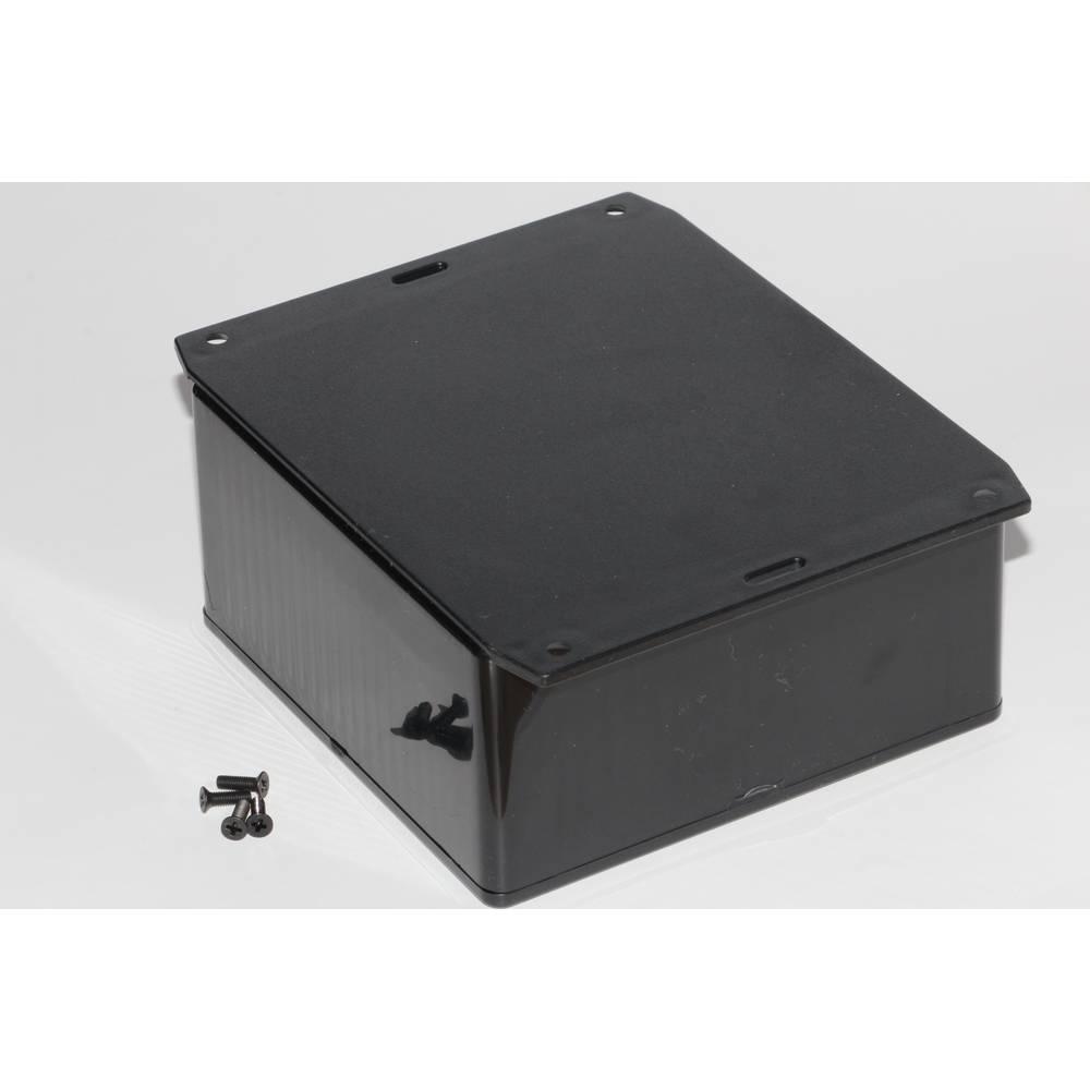 Universalkabinet 120 x 120 x 59 ABS Sort Hammond Electronics 1591UF2BK 1 stk