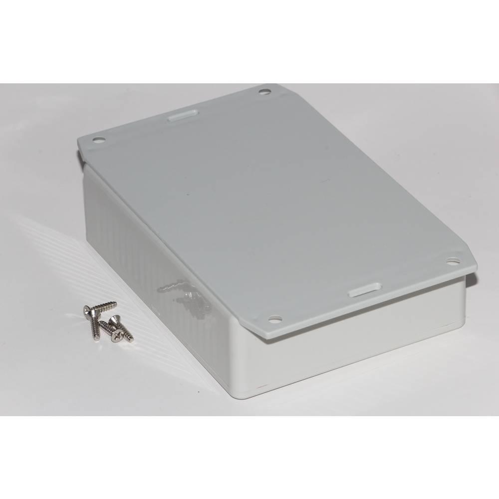 Universalkabinet 165 x 71 x 29 ABS Grå Hammond Electronics 1591HF2SGY 1 stk