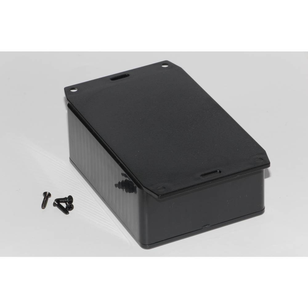 Universalkabinet 110 x 82 x 44 ABS Sort Hammond Electronics 1591SF2SBK 1 stk