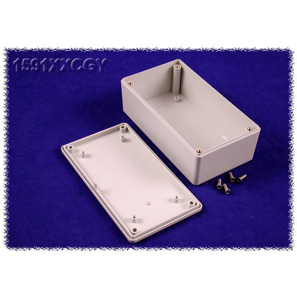 Universalkabinet 121 x 66 x 41 ABS Grå Hammond Electronics 1591XXCGY 1 stk