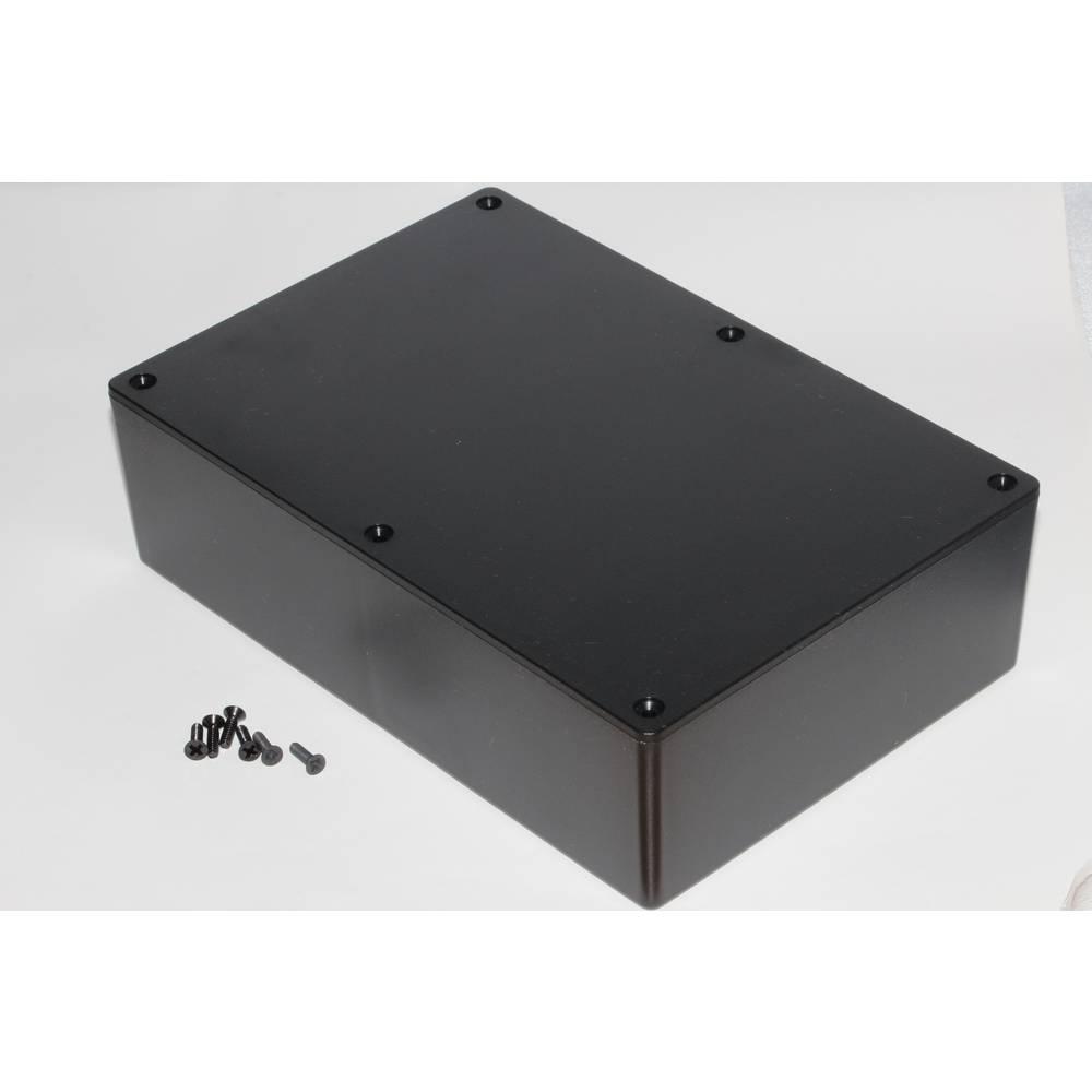 Universalkabinet 221 x 150 x 64 ABS Sort Hammond Electronics 1591XXFBK 1 stk