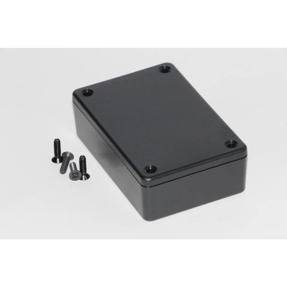 Universalkabinet 110 x 82 x 44 ABS Sort Hammond Electronics 1591XXSBK 1 stk