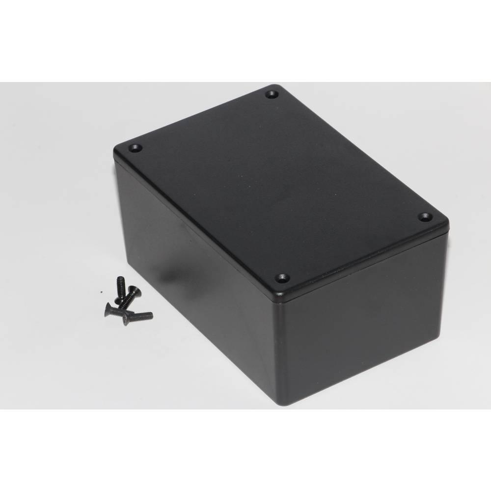 Universalkabinet 123 x 83 x 60 ABS Sort Hammond Electronics 1591XXTBK 1 stk